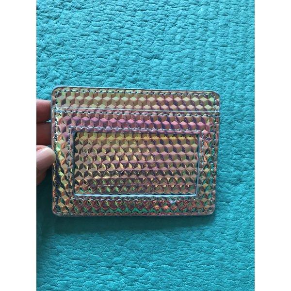 Wallet Tasche für Karten und Münzen Glitzer schimmernd