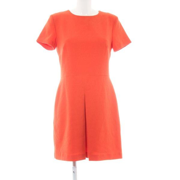 Warehouse Kurzarmkleid orange Business-Look