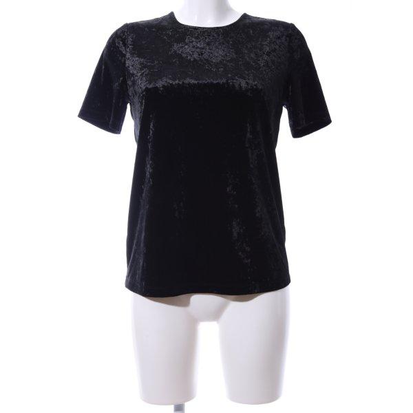 Warehouse T-Shirt schwarz Casual-Look