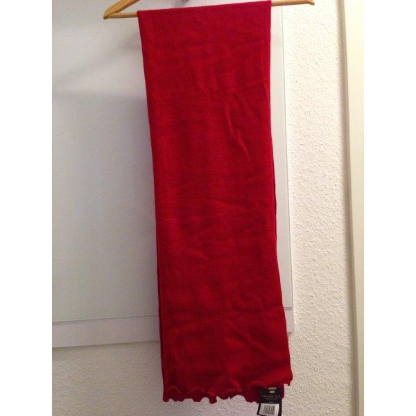 weicher Cashmere- Schal in rot