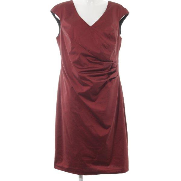 Weise Abendkleid rot-schwarz Elegant