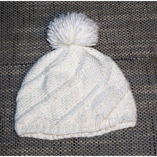 C&A Chapeau en tricot blanc