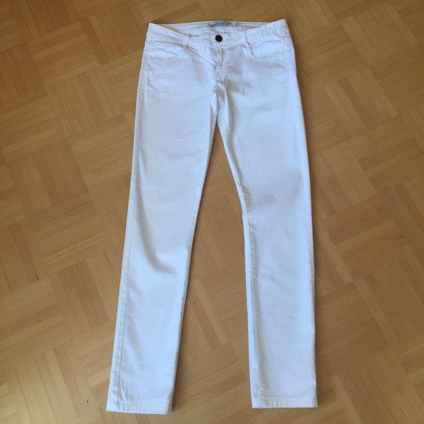 Weiße Jeans in Größe M