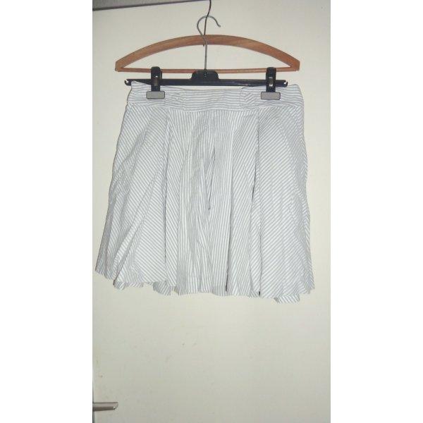 weißer Sommer Baumwollrock Zara S/M