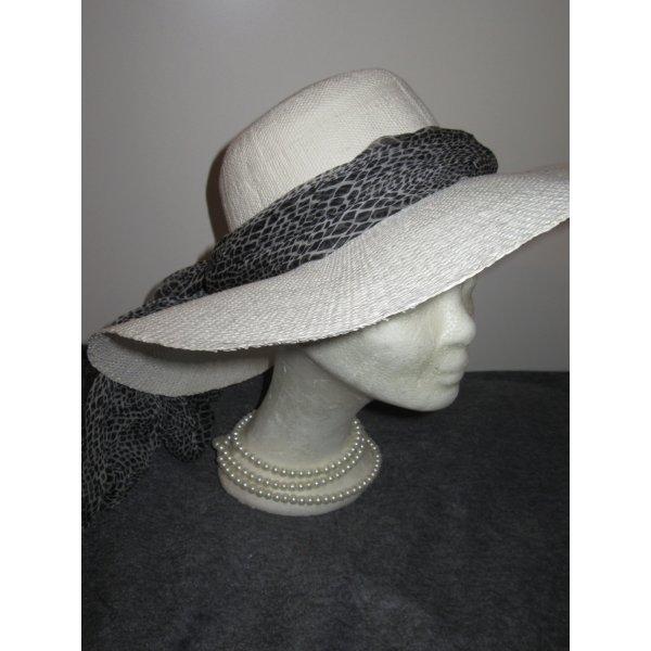 Vintage Chapeau de soleil blanc