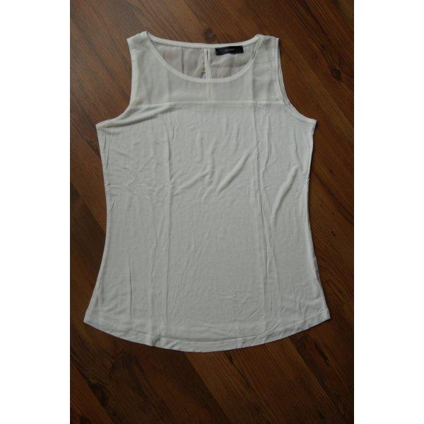 weißes elegantes Top/Bluse