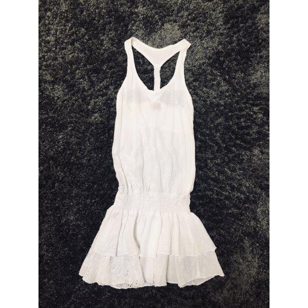 Weißes Ibiza Kleid