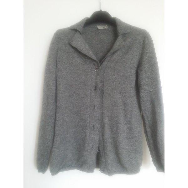 Versace Giacca in maglia grigio