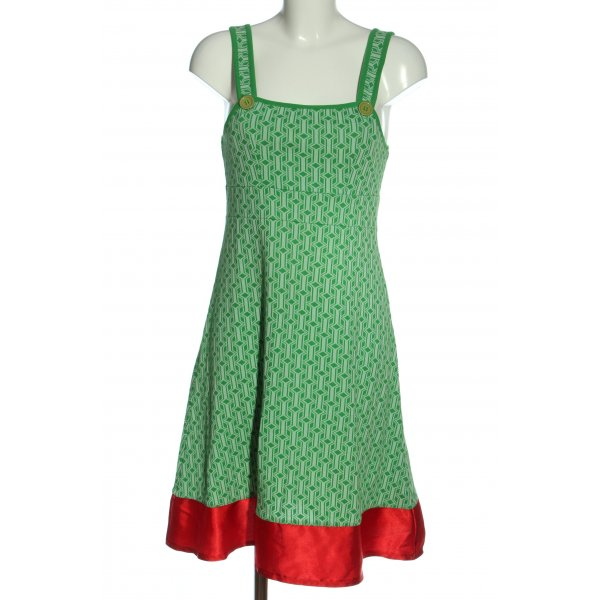 Who's that girl Strickkleid Allover-Druck Casual-Look