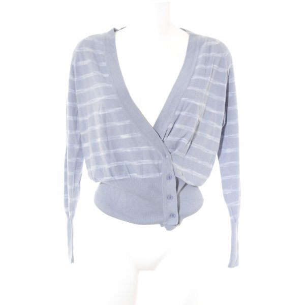 WHYRED Cardigan abstraktes Muster Casual-Look