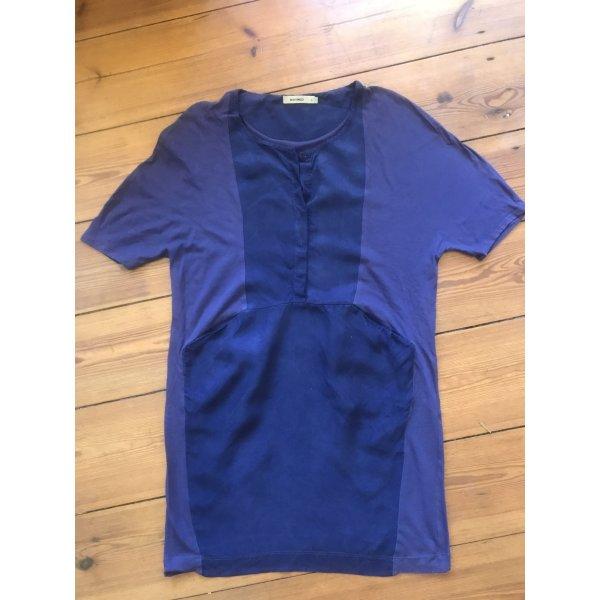Whyred: Kurzes blaues Kleid mit Taschen, casual, Gr. s/ 34/ 36