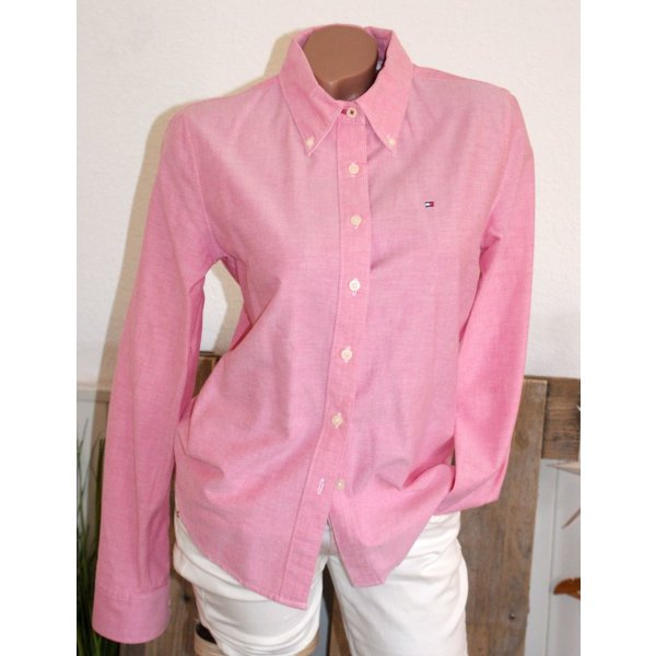 wie neu ● Gr. M ● TOMMY HILFIGER ● Oxford Bluse in Rosa ● Button down Kragen ☆ ☀ ♥ DIE BESTEN SCHNÄPPCHEN - JETZT MEGA REDUZIERT ☆ ☀ ♥