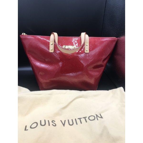 WIE NEU: Louis Vuitton Tasche Bellevue Monogram Vernis ROT