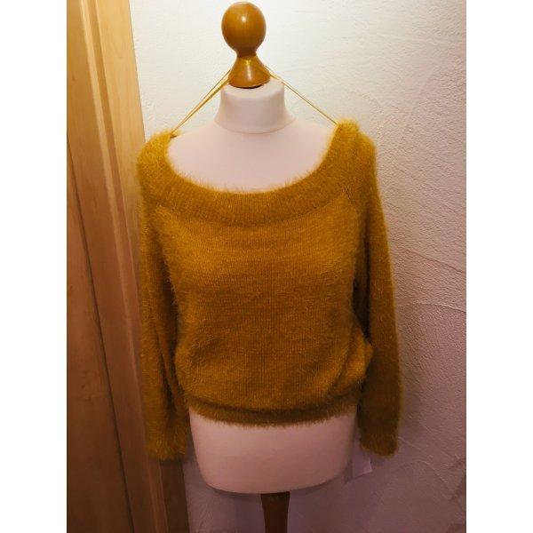 Wild Flower - gelbe Honig Pullover Gr. M