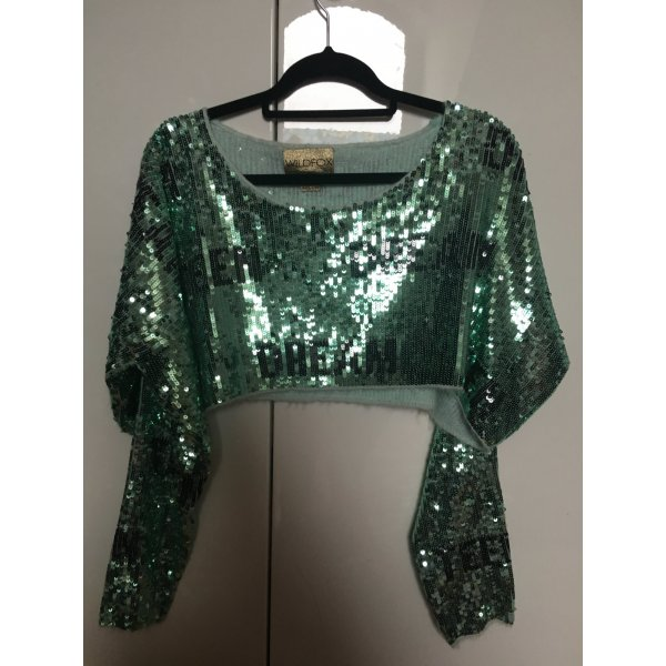 Wildfox Couture Teen Dream Billy Crop Sweater S