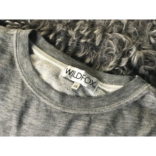 Wildfox printed Katzen Sweatshirt