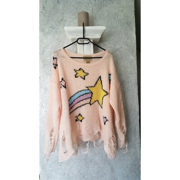 Wildfox Pullover Gr. S M Rose