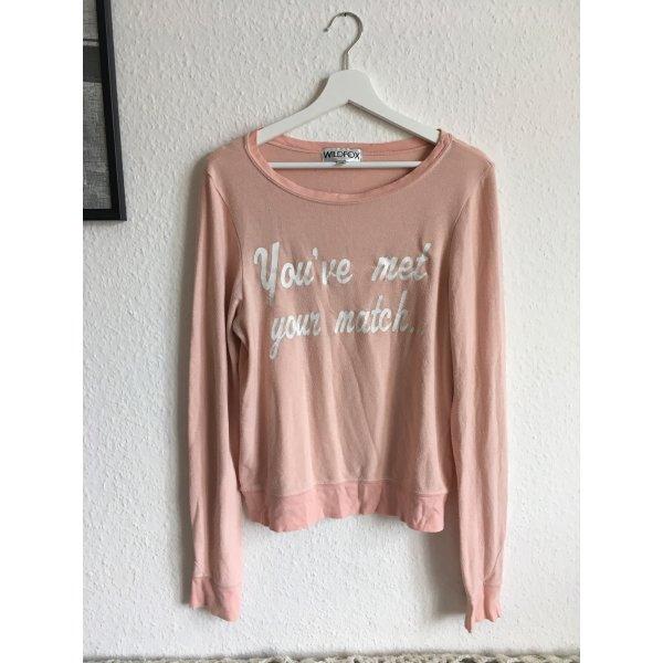 Wildfox Pullover rosa XS S M