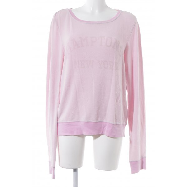 Wildfox Sweatshirt rosa Casual-Look