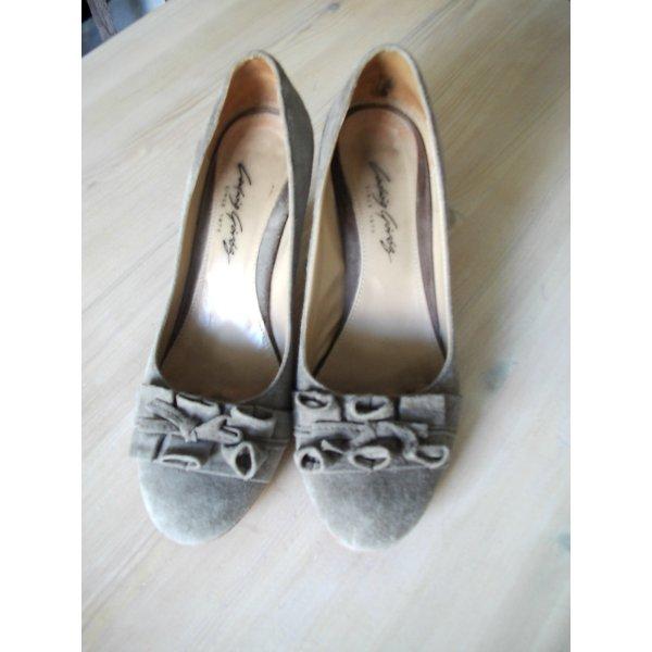 Loafers grijs-bruin