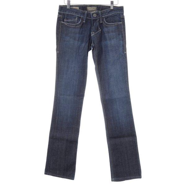 William Rast Straight-Leg Jeans dunkelblau Jeans-Optik