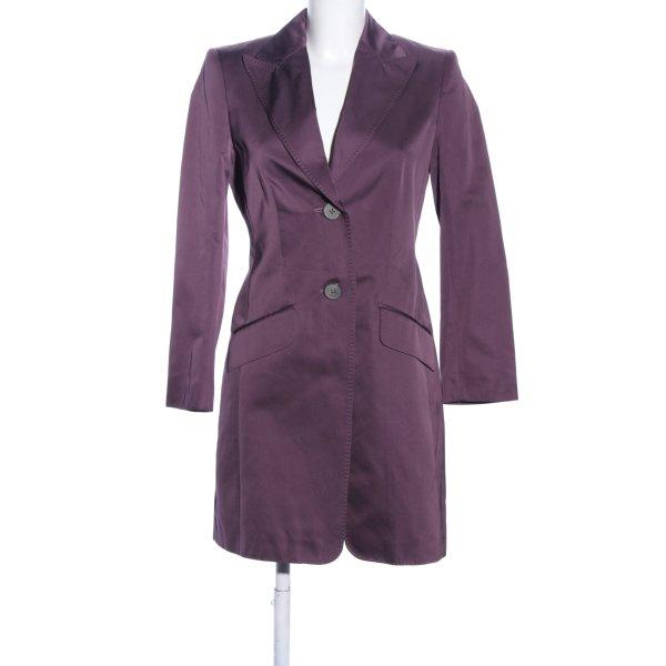 Windsor Übergangsmantel lila Business-Look