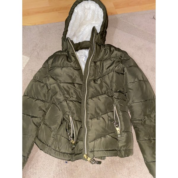H&M Winterjack khaki