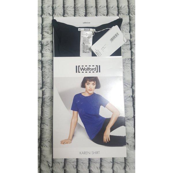 WOLFORD Karen Shirt black / schwarz XS Extra Small 34 36