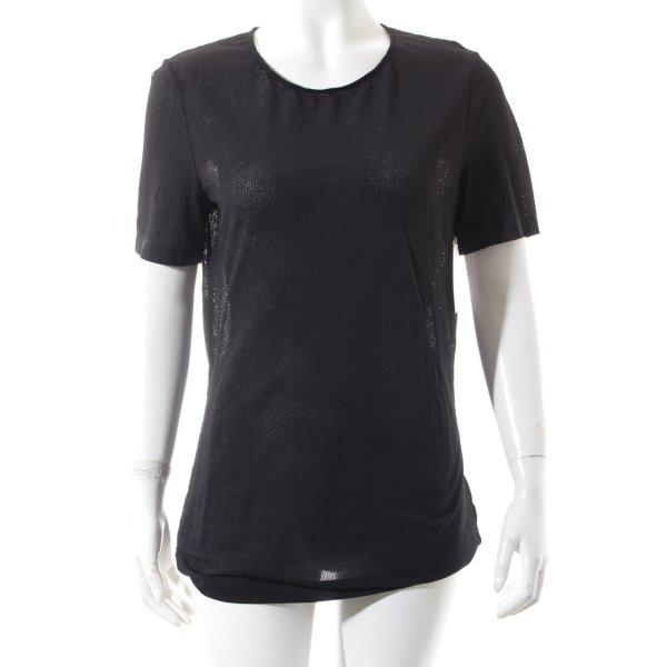 Wolford Shirt schwarz sportlicher Stil