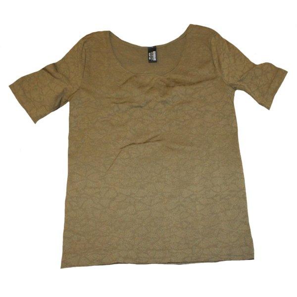 WOLFORD Shirt Velvet Mix oliv XS