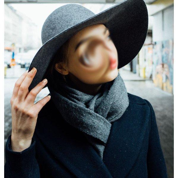 H&M Zachte hoed veelkleurig Wol
