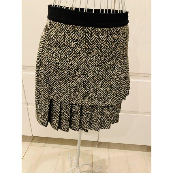 Emanuel Ungaro Plaid Skirt cream-grey
