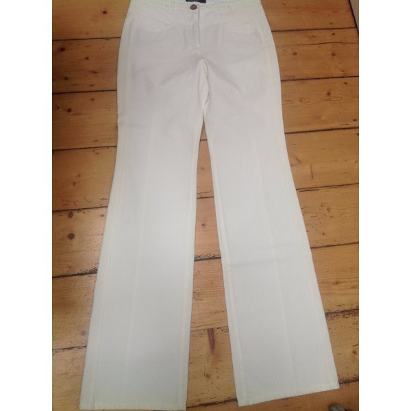 Marc Cain Marlene Trousers natural white mixture fibre