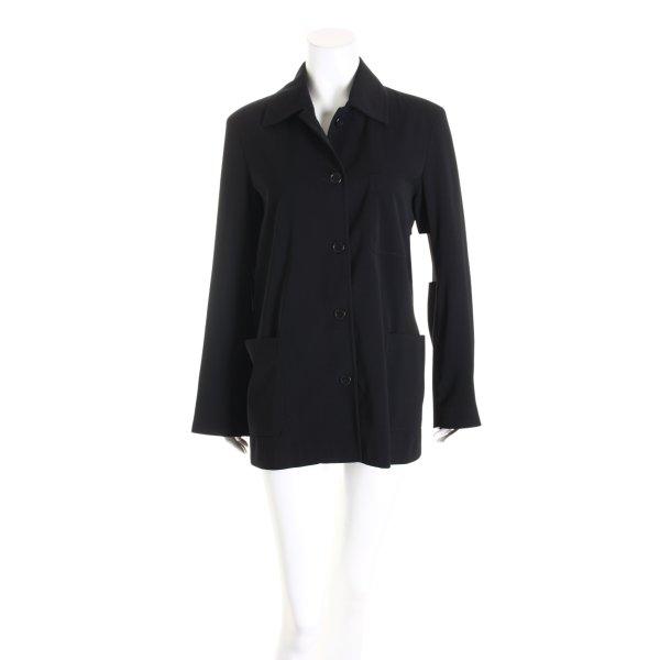 WOMAN Long-Blazer schwarz Business-Look