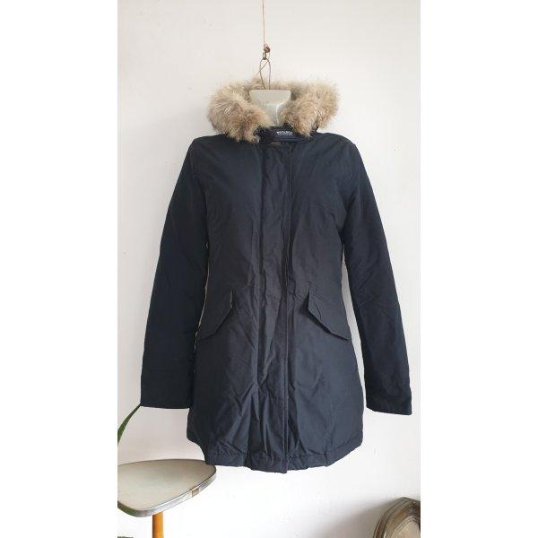 WOOLRICH ARCTIC PARKA Slim Fit Frau L Blau WWCPS1446 CN02