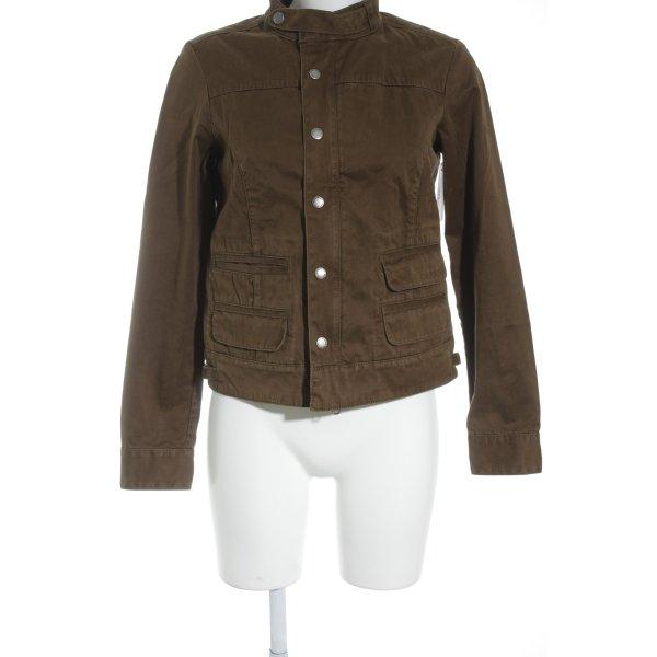 Woolrich Veste courte brun style mode des rues