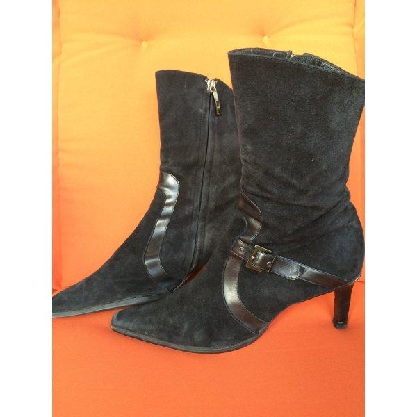 Wunderschöne italienische Stiefel schwarz