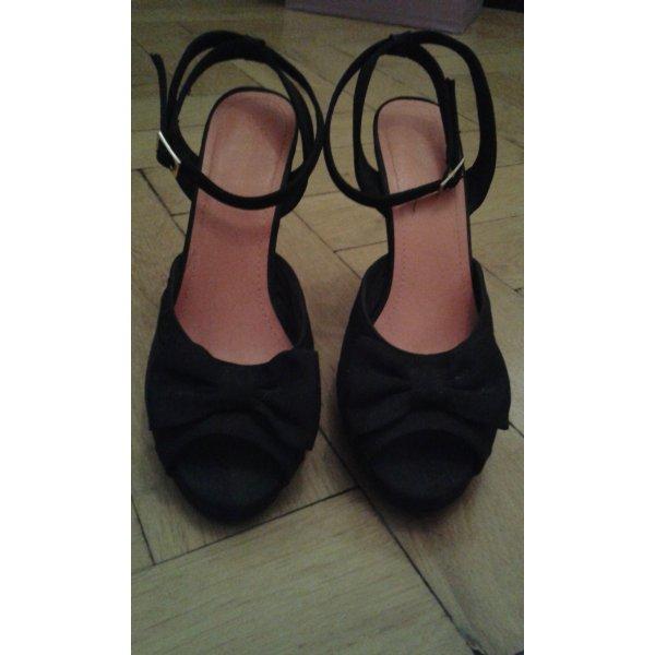 wunderschöne schwarze high heels