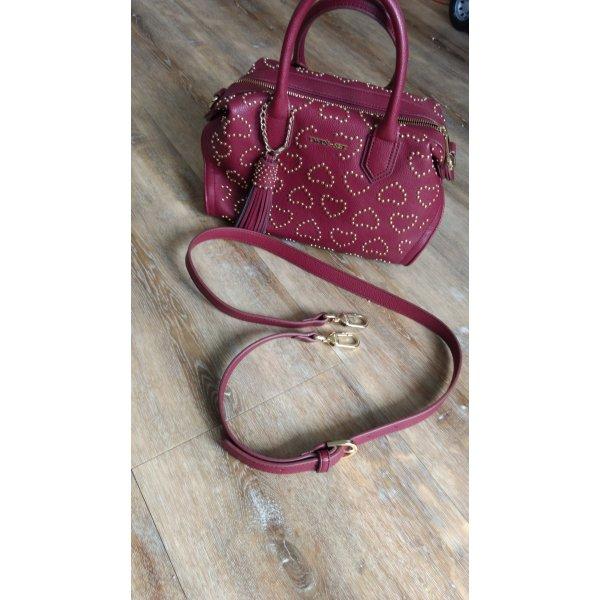 TwinSet Simona Barbieri Carry Bag purple imitation leather