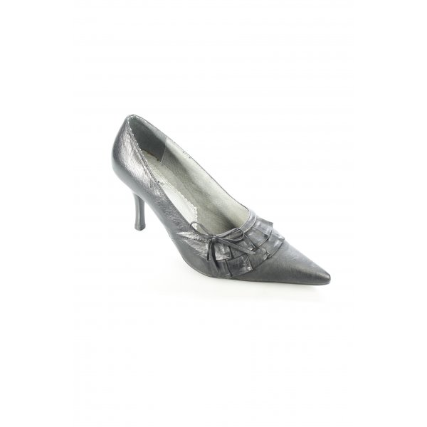 Xti Spitz-Pumps schwarz Business-Look