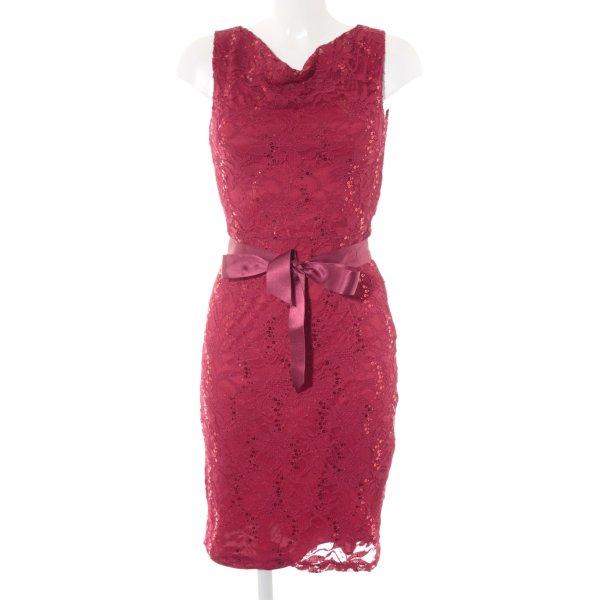Young Couture Abito con paillettes rosso elegante
