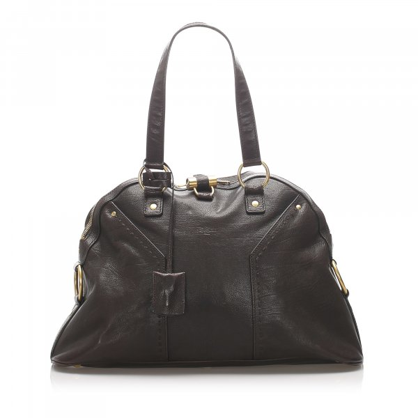 YSL Leather Muse Handbag