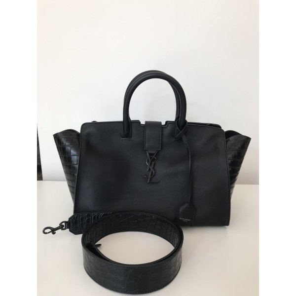 Yves Saint Laurent Monogram Downtown Cabas bag // NEU
