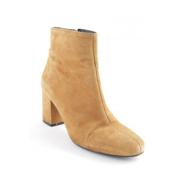 Zalando Iconics Reißverschluss-Stiefeletten camel Casual-Look