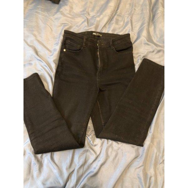 Zara Basac High Waist Jeans Gr 38 stretch