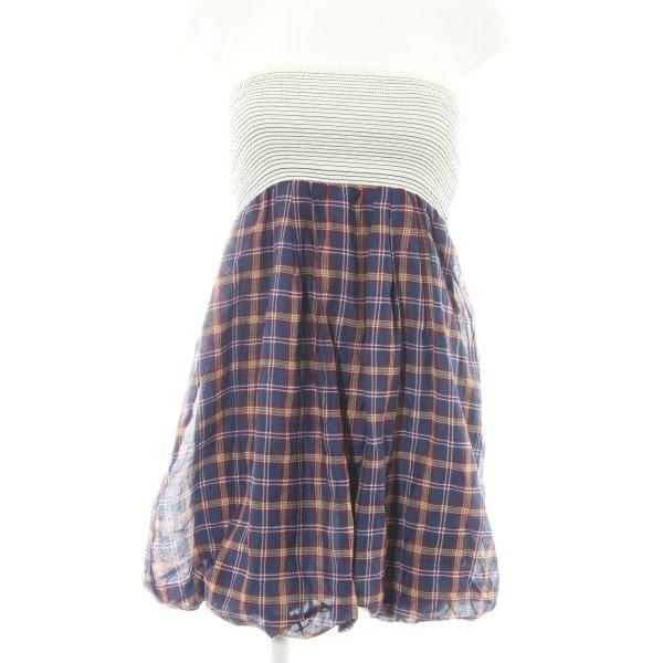 Zara Basic A-Linien Kleid Karomuster Casual-Look