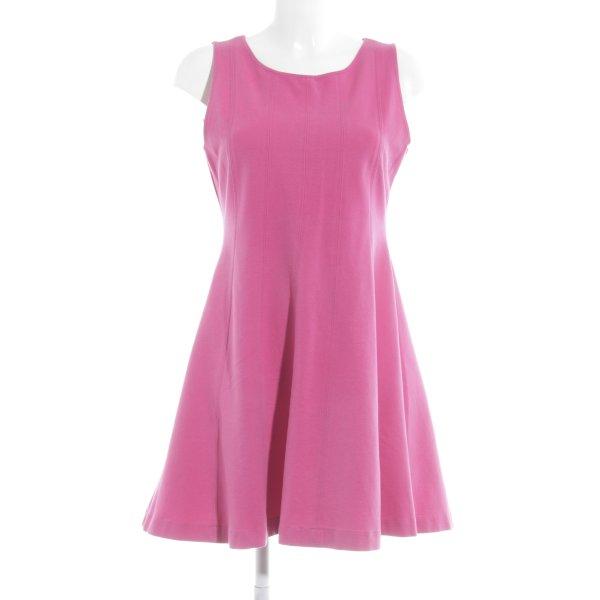 Zara Basic A-Linien Kleid pink Party-Look