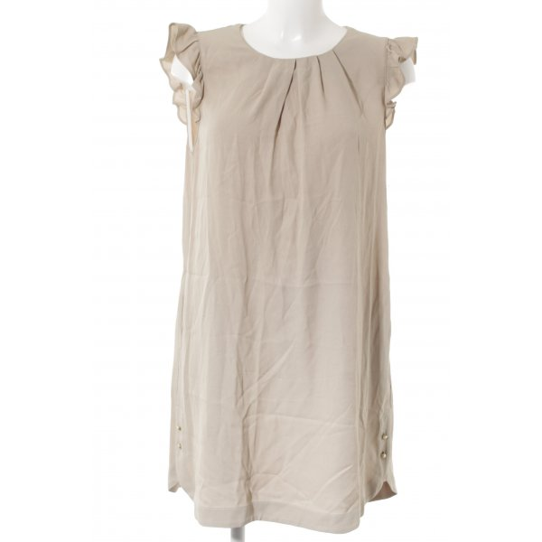 Zara Basic Abendkleid beige Elegant