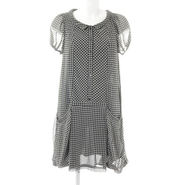 Zara Basic Blusenkleid Karomuster Country-Look