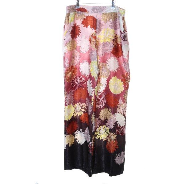 Zara Basic Culottes Blumenmuster Casual-Look